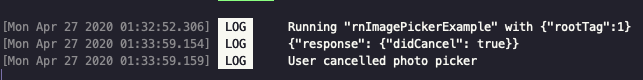 The terminal window logs the user's activity